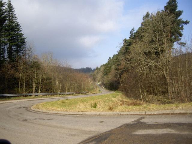 Drumdelgie junction off A96