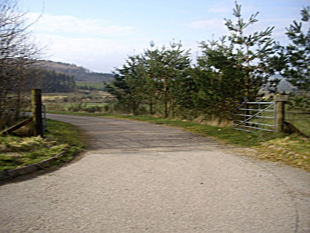 Access road to Inschtammack