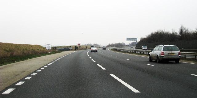 A20 near Swanley