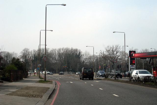 A20 towards Lewisham