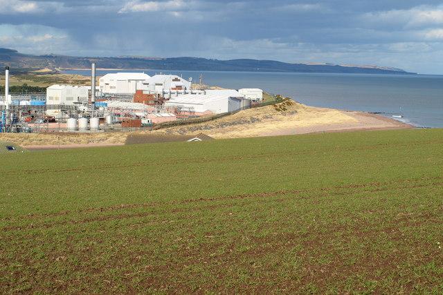 Glaxosmithkline Site in Montrose and Montrose Coastline