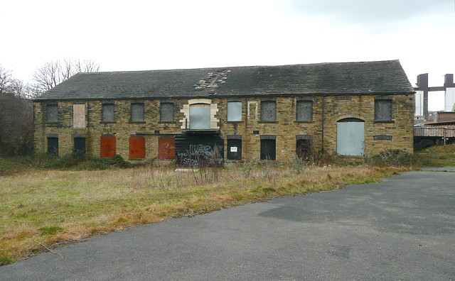 Former mill building, Wharf Street, Brighouse