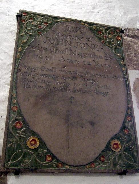 Partrishow church memorials (3)