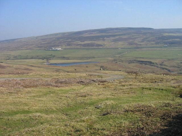 Burnhope Burn reservoir from College