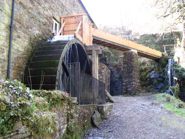 Cotehele Mill, Watermill