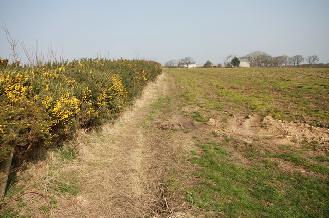 Footpath to Moors Farm