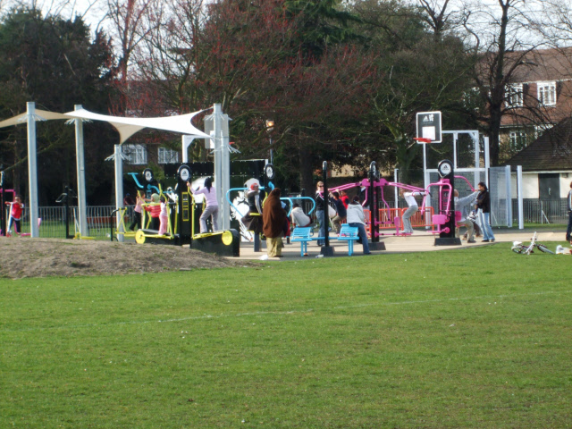 Playground in Charlton Park