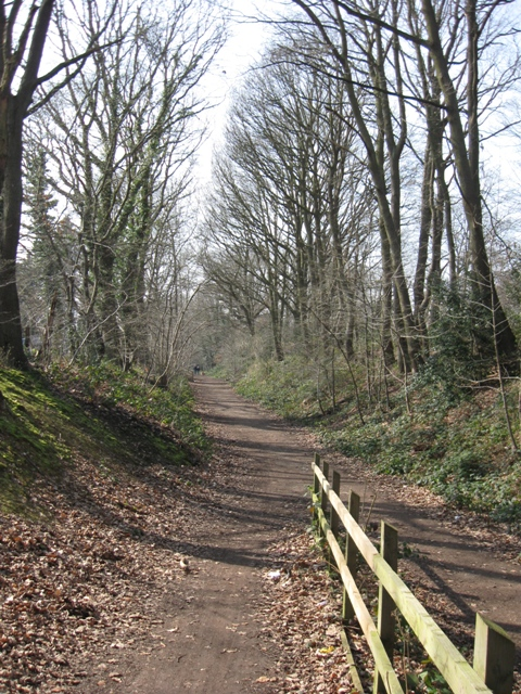 Disused Railway line, Welwyn Garden City