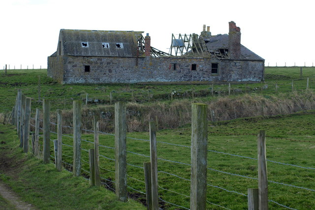 A Building that appears to be attached to Chapel Mill, Usan