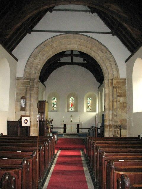 St Martin's Fangfoss - interior