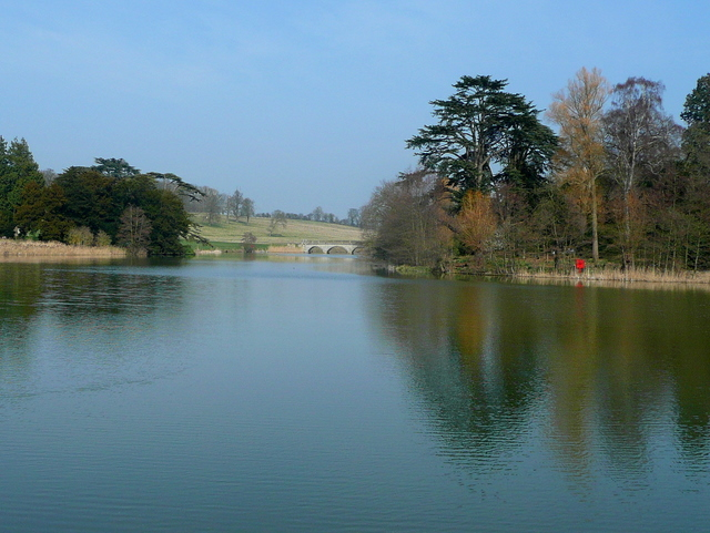 Capability Brown's lake at Compton Verney 1