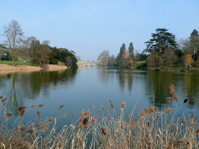 Capability Brown's lake at Compton Verney 2