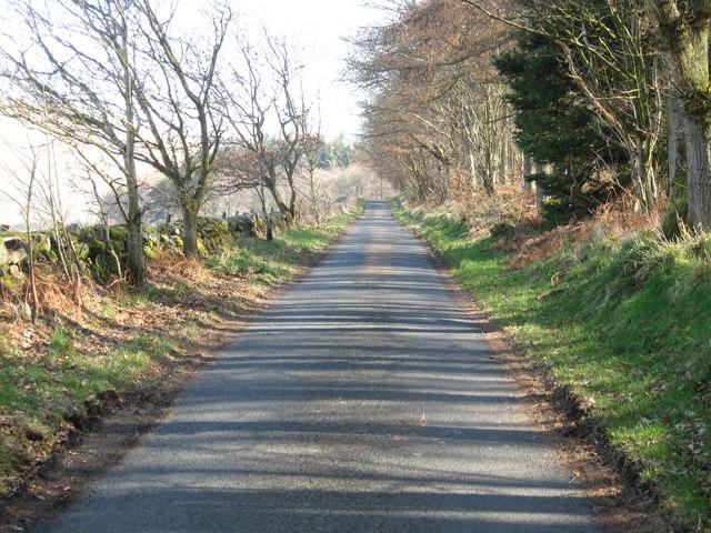 Straight ahead to Ashiestiel