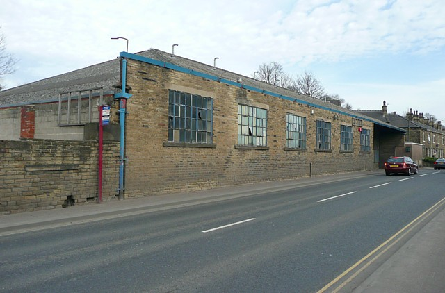 Industrial building, Wakefield Road, Clifton