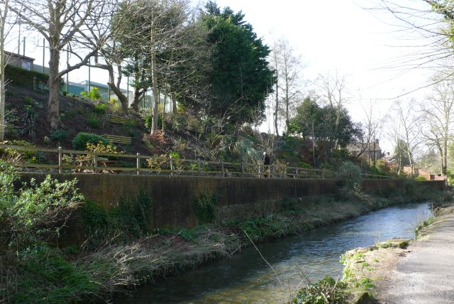 River Frome Millstream and Dorchester Prison