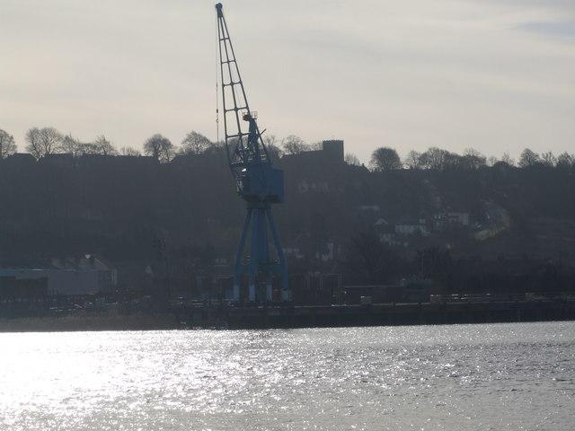 Kingsferry Wharf Crane