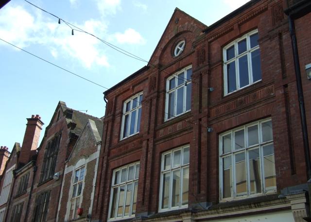 Red brick facades, Crabbery Street