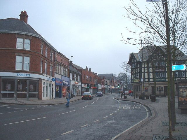 View Down The High Street
