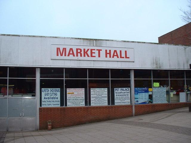 Alfreton Market Hall