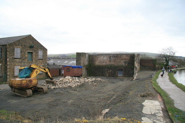 Remains of Victoria Mill, Newtown
