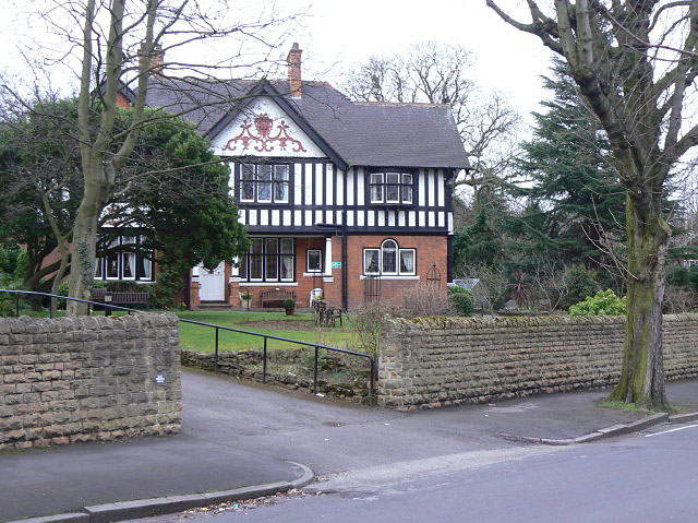 Victorian house, Mapperley Hall Drive