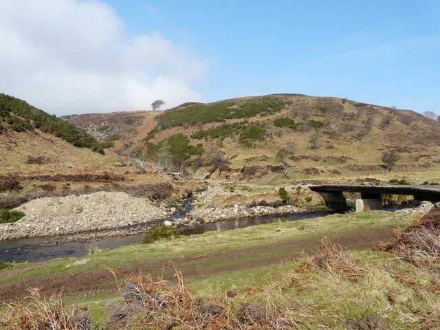 New vehicular bridge over Berriedale Water