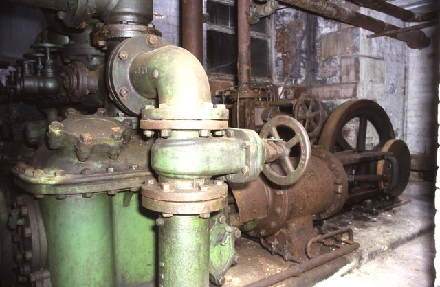 Steam fire pump, Masson Mill