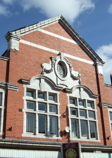 Building detail, Salter Street
