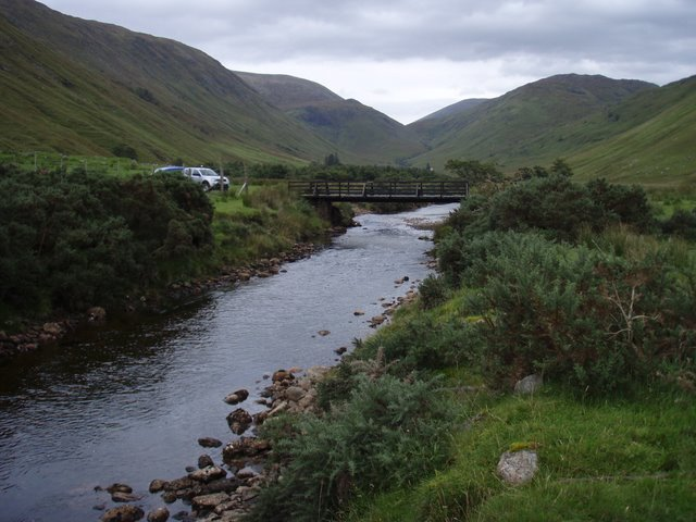 Bridge over the Allt na Doire Gairbhe