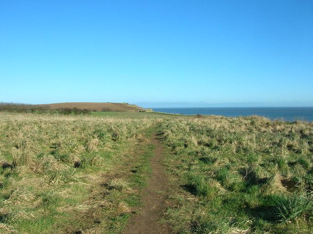 Clifftop Walk Danes Dyke to South Landing