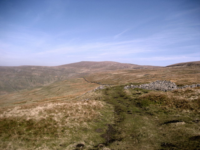 View towards Buckden Pike