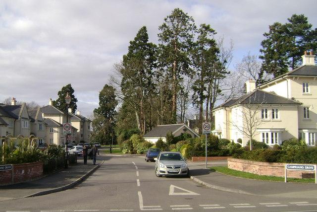 Emscote Lawn development, Emscote Road, Warwick