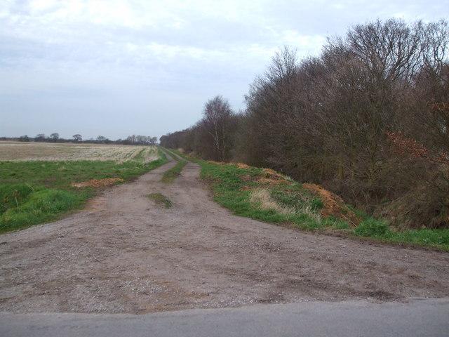 Track alongside Epworth Turbary