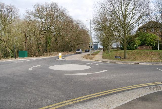 Roundabout, Giles Rd & Darwin Rd