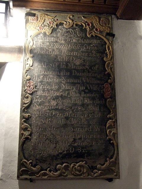 Partrishow church memorials (7)