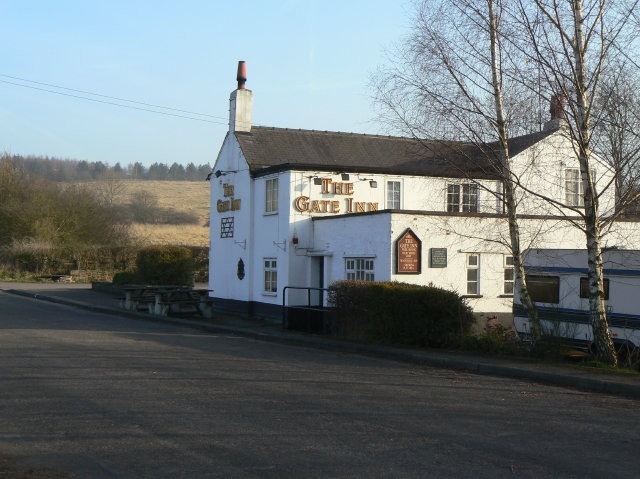 The Gate Inn, Lower Hartshay