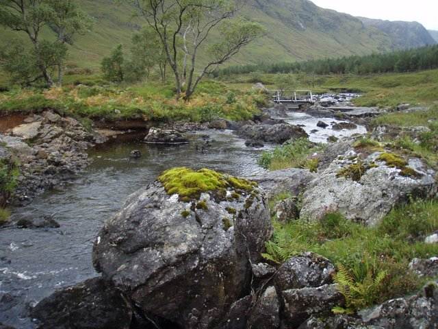 River Elchaig by the bridge