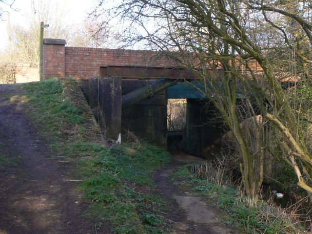 Canal bridge, Lower Hartshay