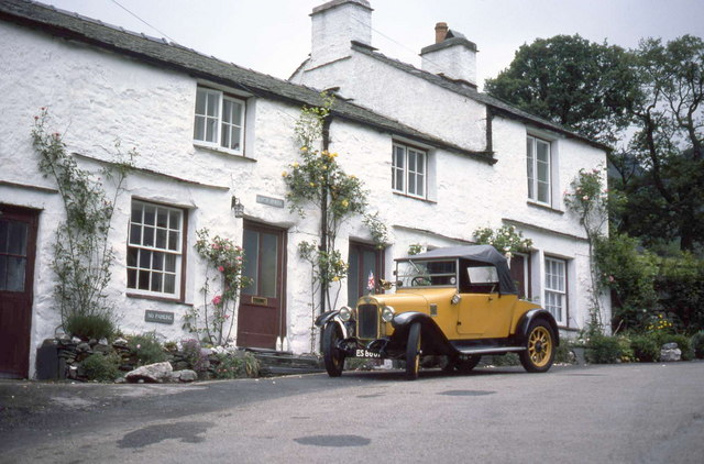 Little Langdale village