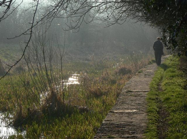 Former Cromford Canal near Lower Hartshay