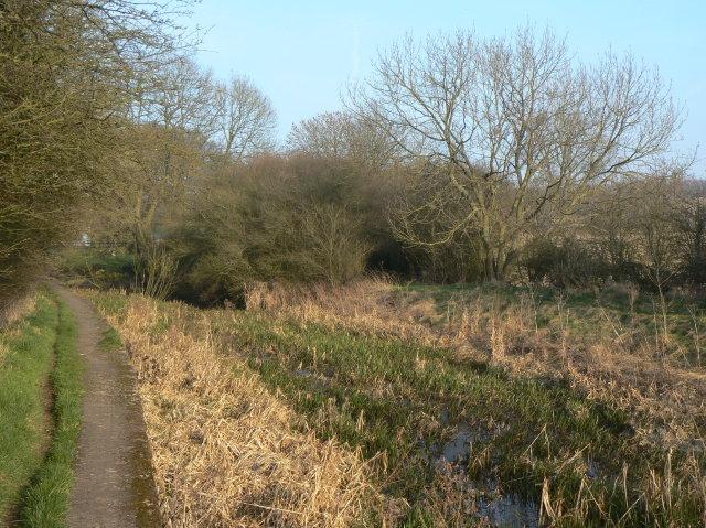 Cromford Canal near Lower Hartshay