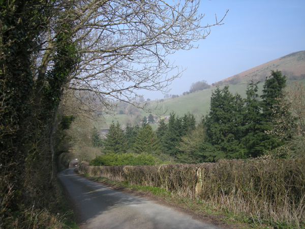 Lane to Church Stretton