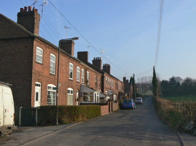 Bridle Lane, Lower Hartshay