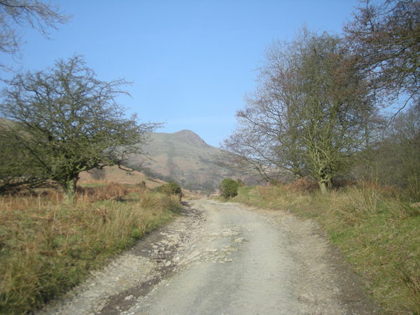 Track through the cwm