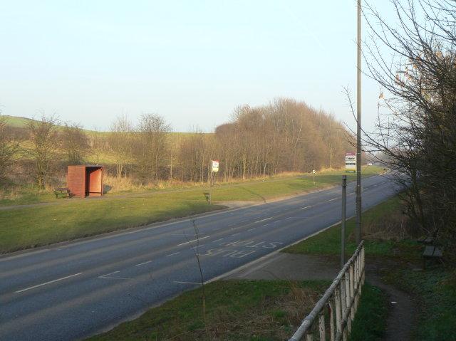 Lower Hartshay Bus Stop