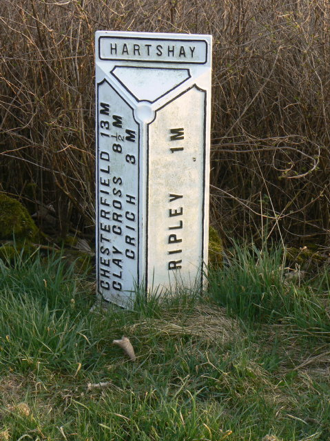 Milepost, Lower Hartshay