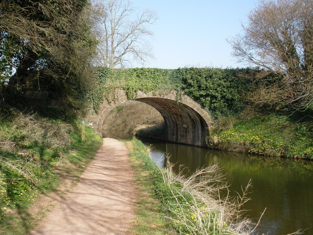 Tidcombe Bridge, on the Grand Western Canal, near Tiverton