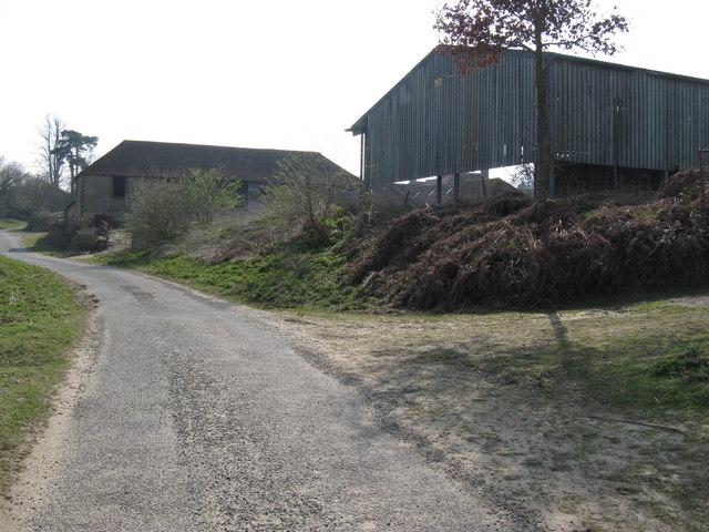 Farm buildings at Manor Farm