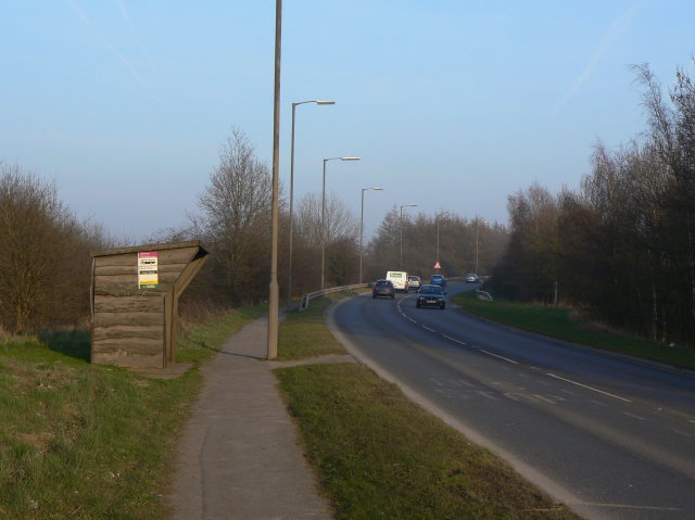 Lower Hartshay Bus Stop