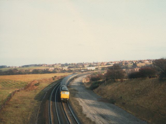 Railway near Neville's Cross